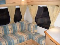 2005 Bailey Pageant Moselle 4 Berth Caravan including Awning .