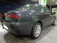 2004 top spec alfa romeo 156 with long mot taxed with FREE DELIVERY OR DRIVES AWAY