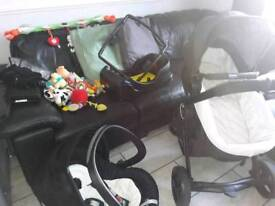 Chicco Urban 3 in 1 Stroller PLUS LOADS of extras