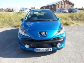 Peugeot 207 HDi sport VGC Stunning car fully serviced valeted and MOT'd £30 tax 50MPG