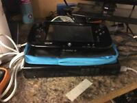 Wii u set with 2 month warranty