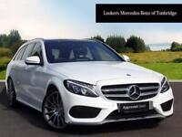 Mercedes-Benz C Class C250 BLUETEC AMG LINE PREMIUM PLUS (white) 2014-09-19