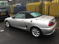 Mg MGF 1.8 petrol convertible 2001 manual excellent drive