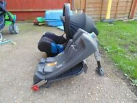 britax car seat and isofix base