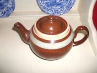 Teapot - Brown Betty LB Made in England