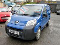 13/13 Peugeot Bipper S 1.3HDi Panal Van, Blue.**12m MOT, £1400 Recently Spent**