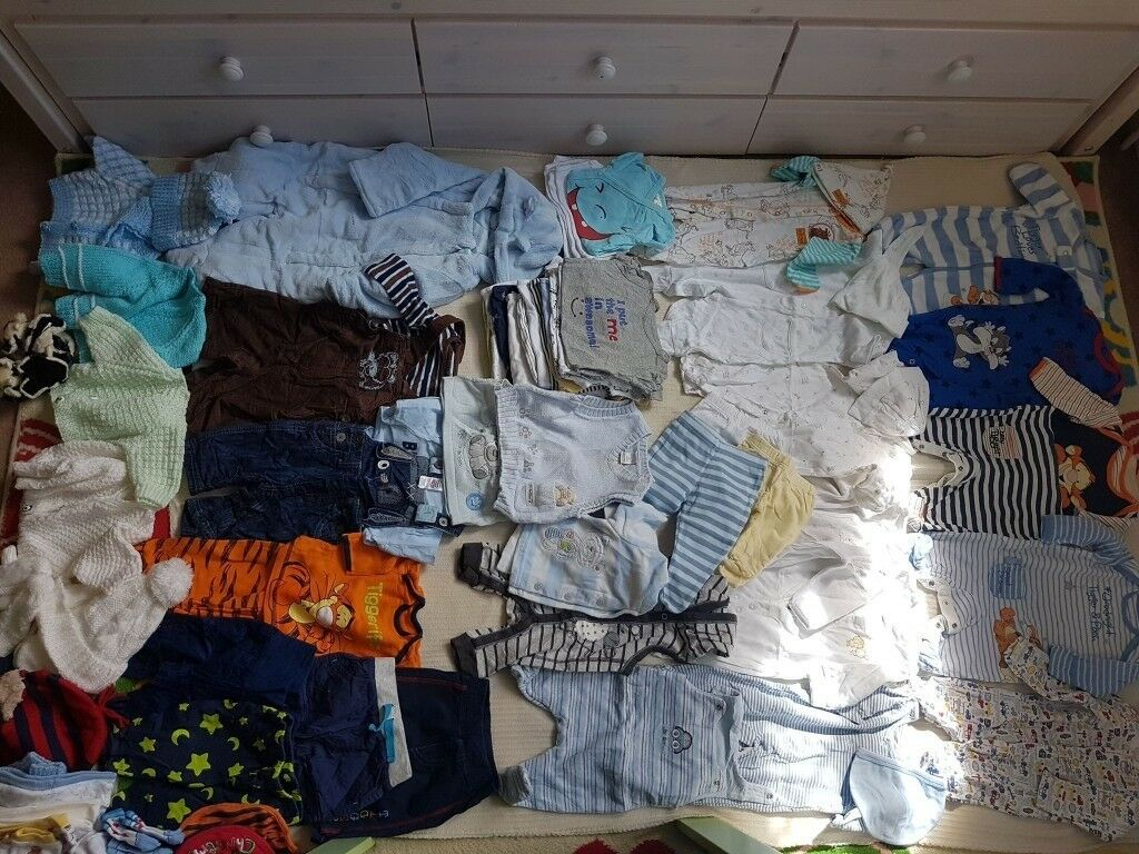 a1cb426031 Huge bundle of baby boy clothes. Sizes 0-6 months over 65 pieces.Brand Gap