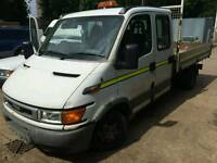 Iveco crew cab tipper