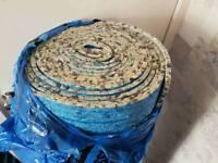 15 m2 brand new foam carpet under 10mm thick