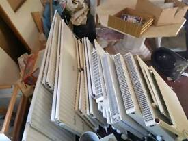 Radiators. Various types and sizes. Please contact