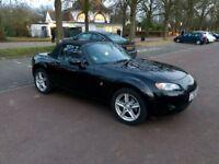 Mazda MX-5. Excellent condition. Low genuine mileage