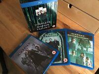 Complete Matrix Trilogy Blu-ray