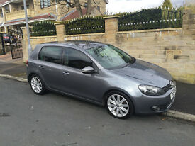 VW GOLF 2.0 GT TDI DSG 140 BHP, 12 MOT, SAT NAV, PARKING SENSORS,