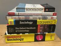 Sociology and Criminology books