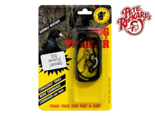 PETE RICKARDS DOG WHISTLE LANYARD TRAINING BIRD DOG HUNTING - DD695