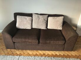 Brown Sofa- FREE. Collection only