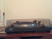 Sony PS-11 Direct Drive Turntable - Quality Vintage late 70's/early 80's item - Needs attention
