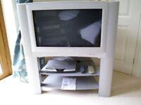 "JVC 28"" Television & Sagem Freeview Recorder"