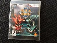 Play station game the eye of judgement
