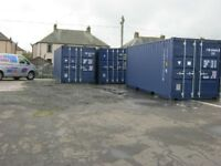 20ft x 8ft New One Trip Shipping Container's FOR SALE site storage unit portable cabin shed store