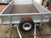 Ifor williams 8x4 flat bed trailer