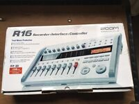 Zoom R16 digital 16 track recorder