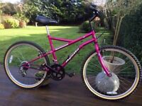 Ladies Road Bike, Apollo Incessant, 18 inch frame, 26 inch wheels, new brakes and wheels