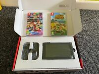 Nintendo Switch Grey With Games