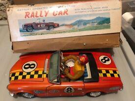 Vintage mystery toy car