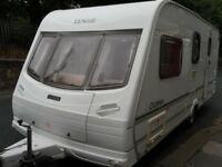Lunar Clubman Four Berth Touring Caravan Plus Motor Mover
