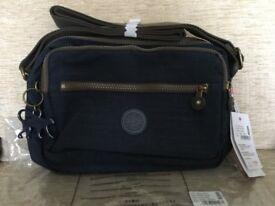 KIPLING DEENA SHOULDER BAG - New in packaging - Dazz True Blue