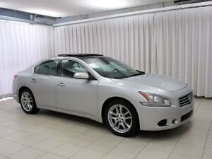 2010 Nissan Maxima LEATHER, SUNROOF, HEATED STEERING WHEEL AND S