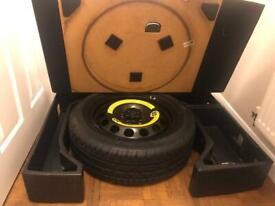 Skoda yeti spare wheel false floor kit