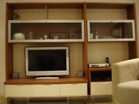 Bookcase & TV wall unit worth of £1,800 only for £300