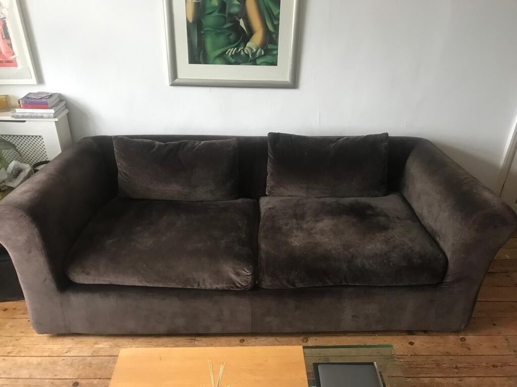 Habitat Louie 3 Seater Sofa And Love Chair