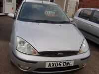 2005 ford focus zetec 1.8 5 door mot april 2017 service history 2 owners same family