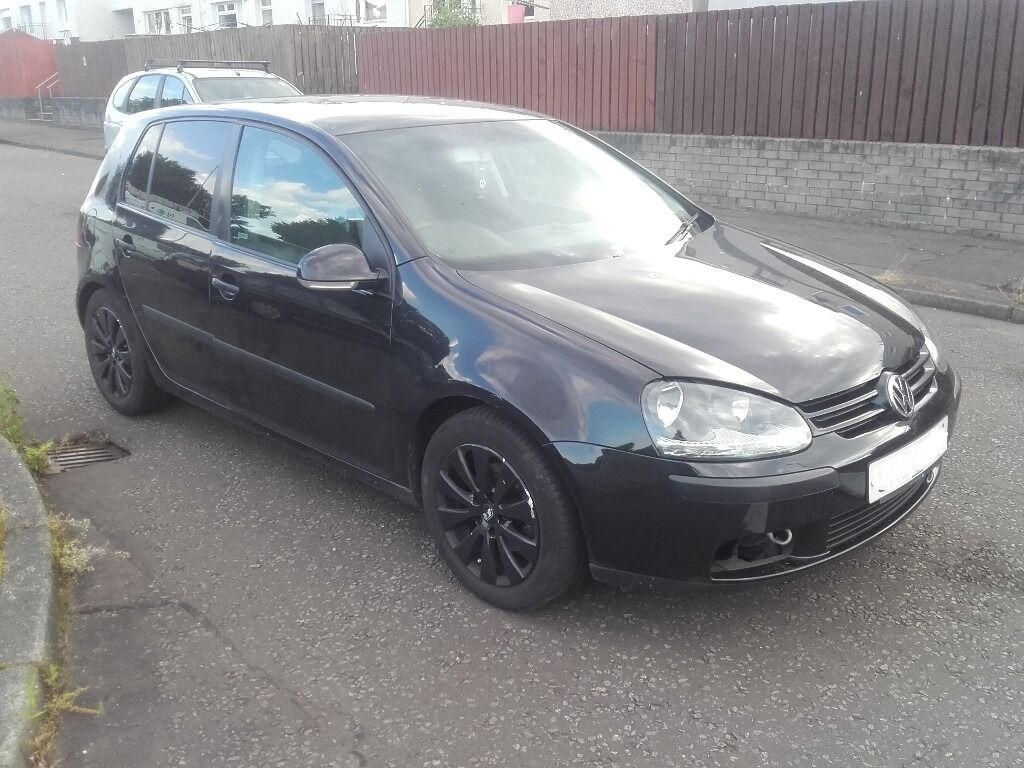 2004 vw golf v mk5 1 6 fsi bag breaking for part spares 4 5 door hatchback black in angus. Black Bedroom Furniture Sets. Home Design Ideas