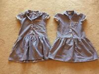 School gingham dresses