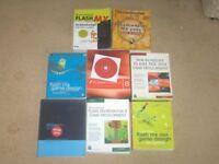 MACROMEDIA FLASH PROFESSIONAL 8 + GAME DESIGN BOOKS