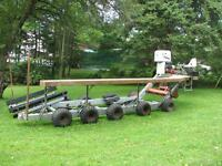 SELF PROPELLED BOAT TRAILER - NEW PRICE - MUST SELL