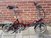 Tactic Panache 5 Folding Bicycle - Similar to Brompton (Cash/Collection Only)