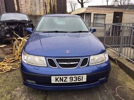 Immaculate 2003 SAAB 95 2.0T 4DR manual, needs mot, first £500 gets it strictly no offers please