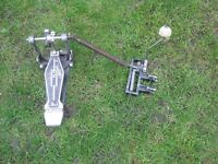Drums - Pearl Bass Drum Double Pedal Attachment