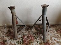 Pair of large axle stands