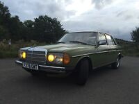 LHD Mercedes Benz 1977 (soon tax exempt) w123 200D classic