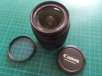 Genuine Canon Zoom Lens EF-S 18-55mm f3.5-5.6 IS STM with Hoya UV(C) 58mm filter UV filters more