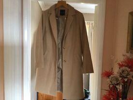 Camel coat as new