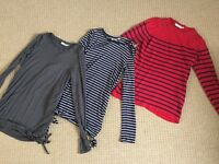 JoJo Maman Bebe Maternity Top Bundle, Size Small
