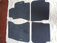 GENUINE subaru forester car mats