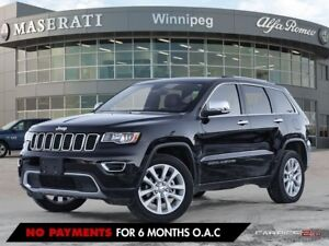 2017 Jeep Grand Cherokee LIMITED: NO ACCIDENTS, LOCALLY OWNED, O